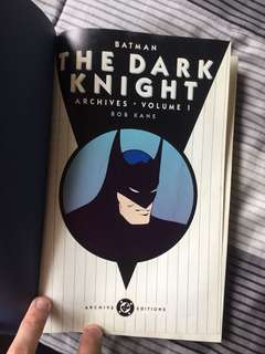 Batman the Dark Knight Archives Vol.1