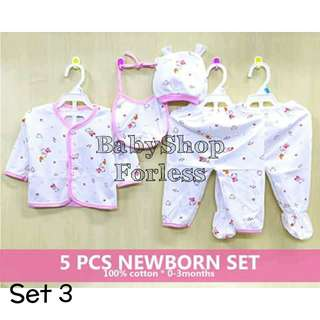 Newborn Pajama Set - SET3
