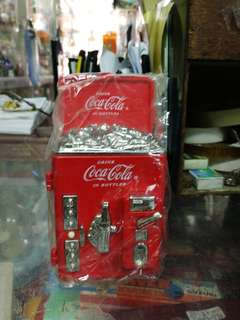可口可樂汽水機擺設