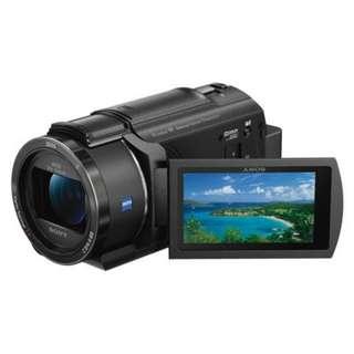 Sony FDR-AX40 Handycam 4K Video Recording. Sony Malaysia Warranty 15 month.Free Sony 64gb card,Bag