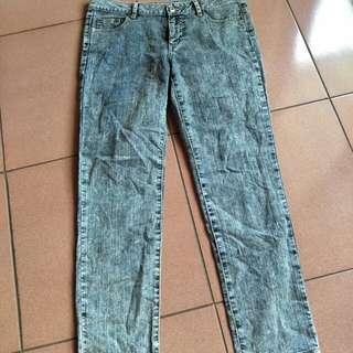 """全新stylebasic 牛仔褲32""""日本製,22褲襠,25.5大腿"""