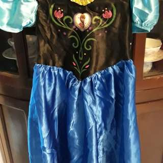 Anna Frozen Costume 6-8 years old