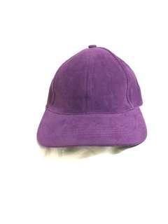 Suede Cap (violet)