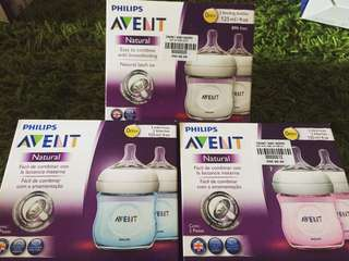 Avent Bottles 125ml/4oz (2 bottles)
