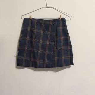 🚚 全新 格紋窄裙 a字裙