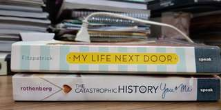 Buy 1 get 1 catastrophic history of you and me my life nxt door