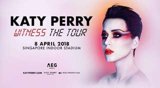 Katy Perry ticket well located ticket was 352
