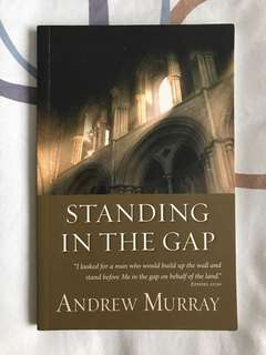 Standing in the Gap by Andrew Murray