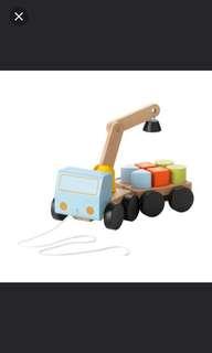 😊 IKEA Mula Wooden Crane