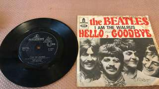 "The Beatles - Hello Goodbye , I Am The Walrus (7"" Vinyl Single)"
