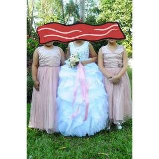 Little Bride's Gown