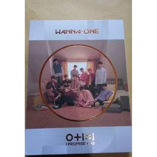 Ready stock Wanna One IPU (I promise you) unsealed album day ver