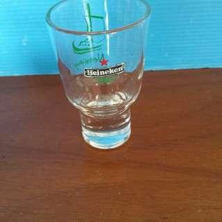 Heineken mini glass