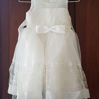 🚚 小禮服(只穿過一次)適合120~130公分