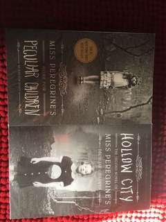 Miss Peregrine's Home For Peculiar Children + Hollow City