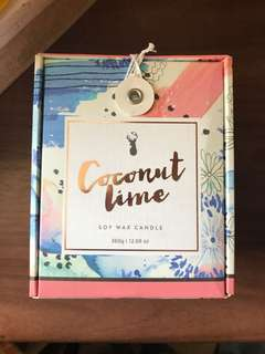 Typo Coconut Lime Soy Wax Candle