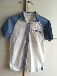 Boy shirt white