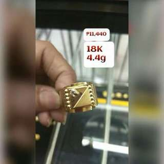 ONHAND!18K SD GOLD RING