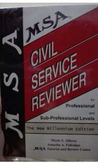 MSA Civil Service Reviewer