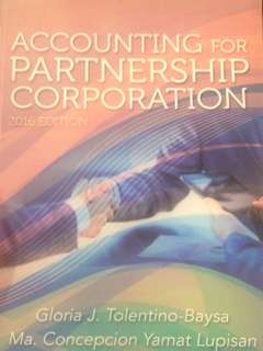 Accounting for Partnership&Corporation by Baysa&Lupisan