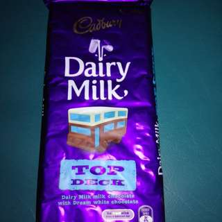 Cadbury Top Deck and other cadbury 200g Bar Australia