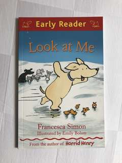 """Used early reader book """"look at me"""""""