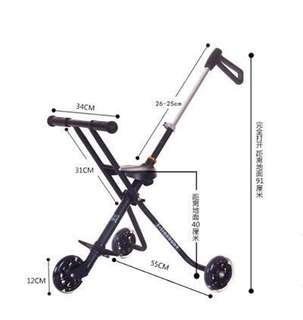 Baby Children Toddler Portable Stroller Ride