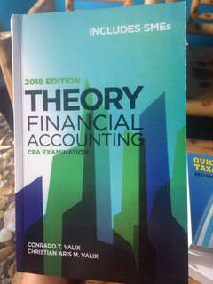 Theory Of Accounts (TOA) LATEST EDITION: 2018