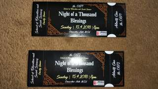 Night Of a Thousand Blessing ft. Alvin Chong