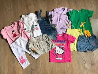 Bundle girls clothing 3y