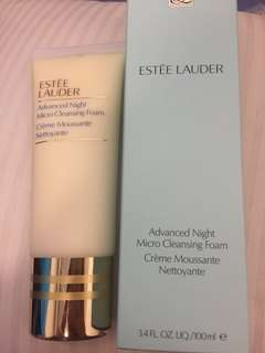 BNIB Estée Lauder Advanced Night Micro Cleansing Foam 100ml