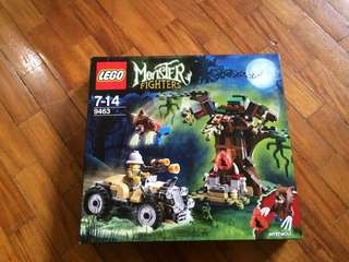 Lego monsters werewolf attack