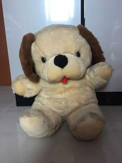 50cm x 53cm dog stuffed toy