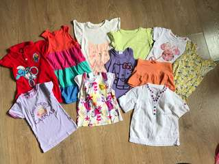 Bundle of girl clothing 3y
