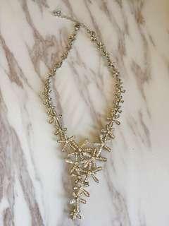 🚚 禮服水晶項鍊