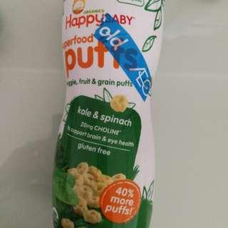 Happy baby super puffs