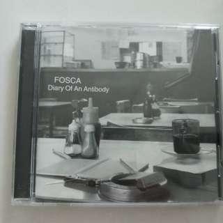 Fosca - diary of an antibody cd