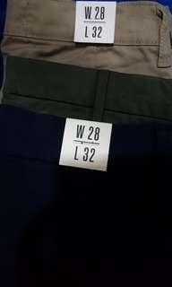 Topman, Uniqlo Pants Size 28 Brand New With Tags