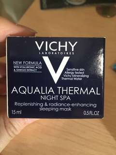 VICHY 睡眠面膜 sleeping mask