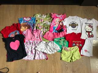 Bundle girl clothing 4y