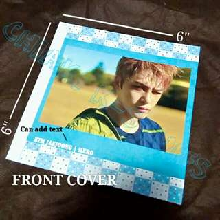 [PREORDER] Customize Photobook 36 & 48 pages Soft cover