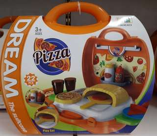 Dream Suitcase - Pizza Play Set