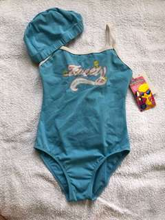 Looney Tunes One Piece with swimming cap