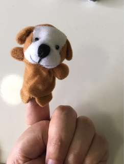 Finger puppets - kids drama toy