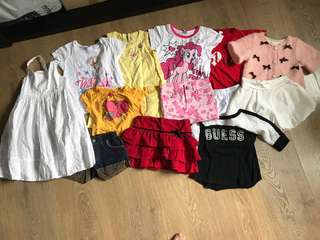 Bundle of girl clothing