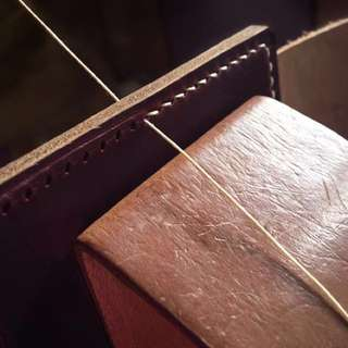Handstitched Leather Goods.