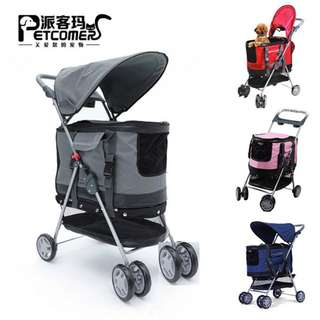 [Instock] 3 In 1 Multi Functional Pet Stroller Pram / Pet Carrier/ Safety Car Seat for Pets