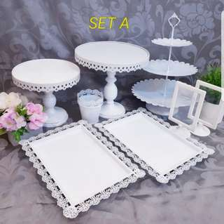 Dessert Table stand, cake stand, cupcake stand, cake tray