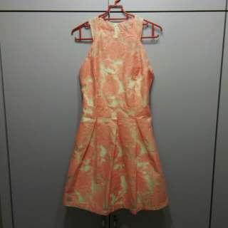 MGP pink floral dress