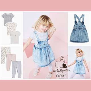 KIDSs BABY - Tshirt/ legging/ denim skirt